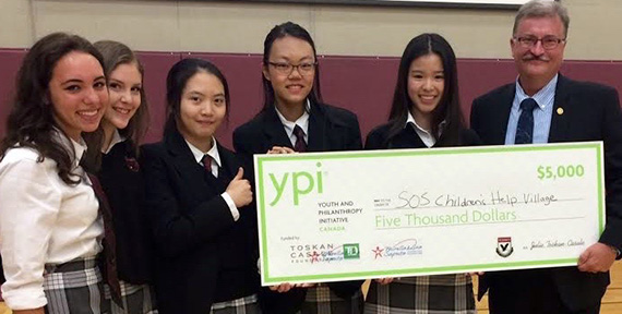 St. John's School YPI team