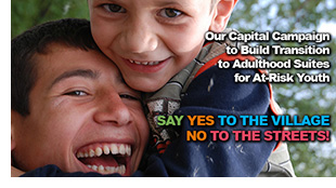 Transition to Adulthood Suites Capital Campaign