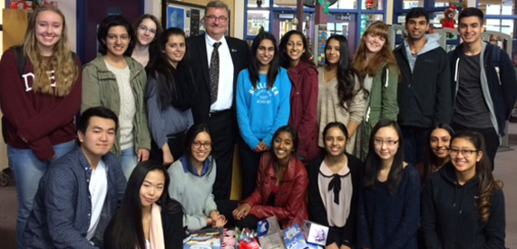 Lord Tweedsmuir High School Interact Club