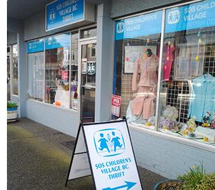Steveston SOS BC Thrift Store